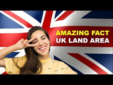 LAND AREA OF THE UNITED KINGDOM