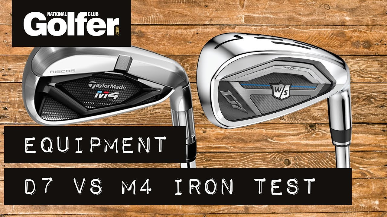 Wilson D7 vs TaylorMade M4 - Strong-lofted Iron Battle