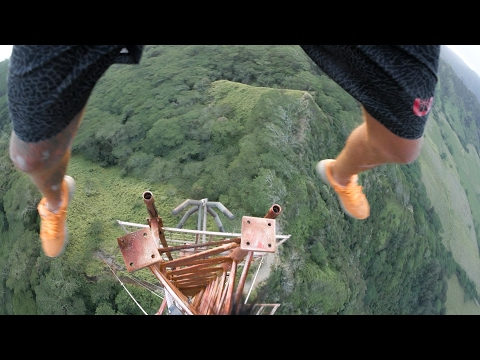 CLIMBING HAWAII'S TALLEST TOWER - ADVENTURE OF A LIFETIME [4K]