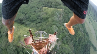 CLIMBING HAWAIIS TALLEST TOWER - ADVENTURE OF A LIFETIME 4K