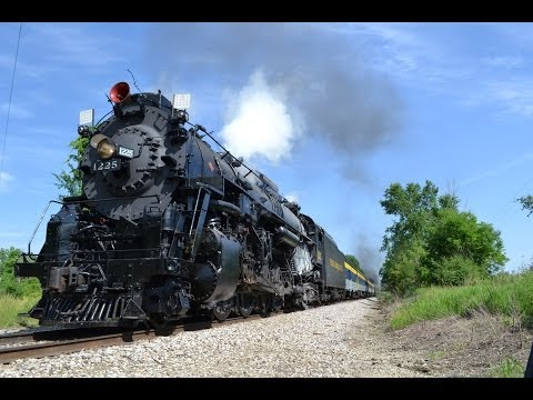 Train Expo 2014: A Grand Gathering Of Steam - PM 1225, NKP 765, LRR 110, LRR 1, Viscose 6, Flagg Co