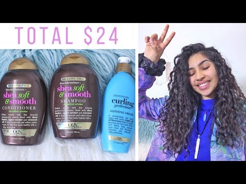 OGX Review // $24 Curly Hair Routine