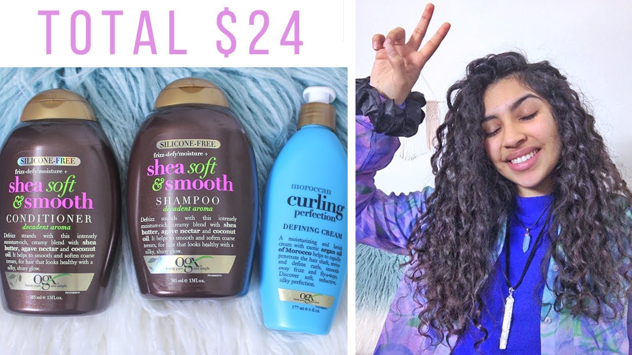 Ogx Review Drugstore Curly Hair Products Youtube