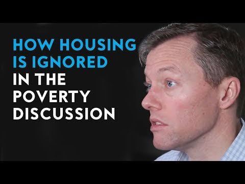 How Housing Is Ignored In The Poverty Discussion | Author Matthew Desmond
