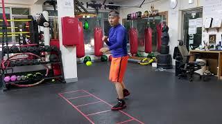 [김지산복싱센터] 어깨힘빼기운동 탭볼연습 오십견좋은운동…