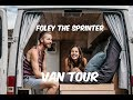 VAN TOUR of our OFF-GRID tiny home on WH