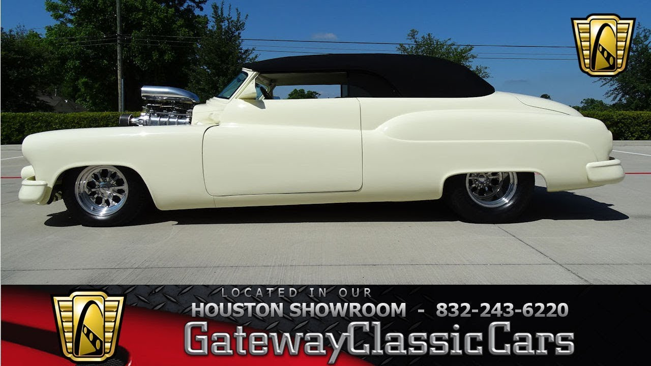1950 Buick Riviera Gateway Classic Cars #1222 Houston ...1950s Cars For Sale