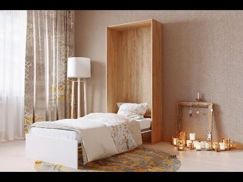 Односпальная шкаф — кровать трансформер OPTIMA V
