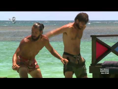 Survivor All Star - Hakan Oyun Sırasında Hilmi Cem'in Elini Tuttu (6.Sezon 62.Bölüm)