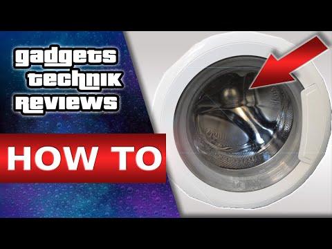 Waschmaschine Reinigen - Waschmaschine Stinkt? 🆗 Flusensieb, Türdichtung & Schublade Reinigung