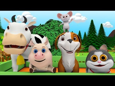 Farmer In The Dell | Baby Songs Collection | Nursery Rhymes | Kindergarten Kids Songs & Cartoon