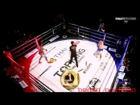 Buakaw Banchamek Vs Stone Cold Steve Moxon 2014 | Muay Thai Boxing | International HBO Boxing