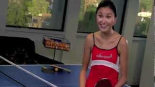 Video Entourage behind story - ping pong lesson with Soo Yeon Lee download MP3, 3GP, MP4, WEBM, AVI, FLV September 2018