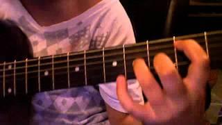 one last breath creed guitar lesson #1