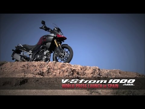 V-Strom 1000 ABS World Press Launch Video