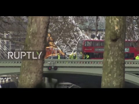 UK: Gunfire erupts outside Houses of Parliament, car and knife attacked reported