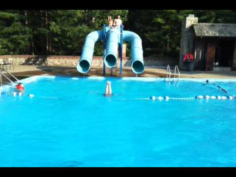 Hocking hills state park lodge pool 1 youtube - Campgrounds in ohio with swimming pools ...