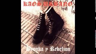 Kaos urbano - Bronka Y Rebelion (Album completo) full album