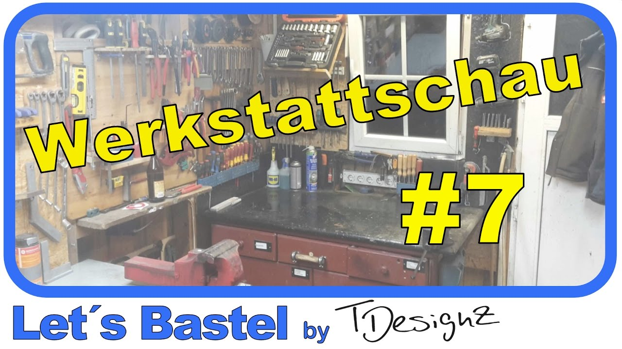 werkstattschau 7 werkstatttour ideen f r werkstatt einrichten youtube. Black Bedroom Furniture Sets. Home Design Ideas