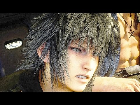 Final Fantasy XV The Trial of Titan Gameplay Trailer E3 2016 Final Fantasy 15