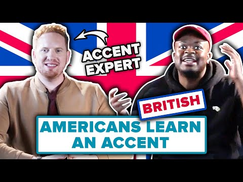 Dialect Coach Teaches Americans A British Accent