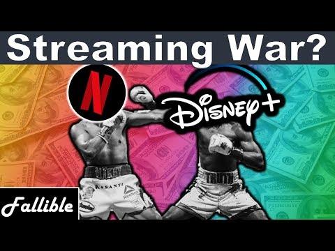 Disney+ Vs Netflix | Streaming Wars Explained (NFLX DIS Stock Analysis)