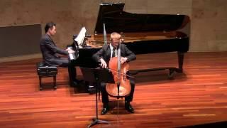 Beethoven Cello Sonata No. 3 Adagio Cantabile- Allegro Vivace- Matthew Linaman-Cello