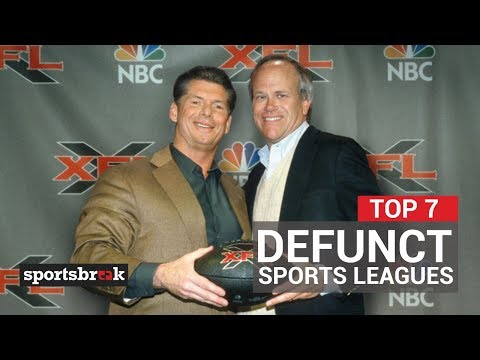 7 Pro Sports Leagues That Flamed Out Spectacularly