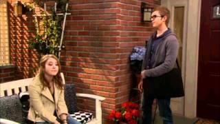 Lennox and Roman from Melissa & Joey ( Chris Brochu and Taylor Spreitler )