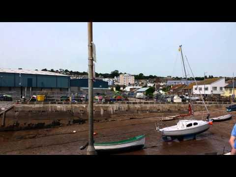 Teignmouth Port Devon UK