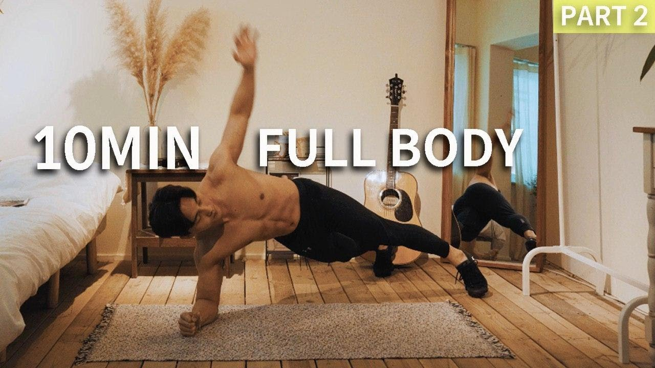 HOME WORKOUT FOR YOUR STRONG BODY (NO EQUIPMENT NEEDED) l 여름 대비 전신 칼로리 태우기 ! (맨몸운동 ver.)