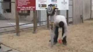 How To Install Aluminum Fence Posts With The Oz Post I2-850 And A Jack Hammer