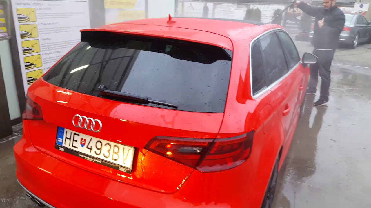 Audi S3 2017 Oz Racing Wheels Und Led Beam Fresh Cleaning