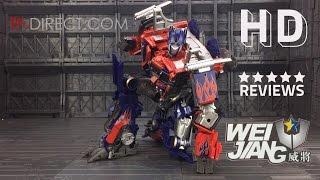 Wei Jiang Transformers M01 戰擎司令官 Commander Optimus Prime