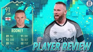 91 FLASHBACK ROONEY PLAYER REVIEW! - IS HE WORTH UNLOCKING? - FIFA 20 ULTIMATE TEAM