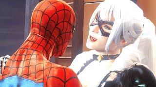 ЧЕРНАЯ КОШКА ПРИШЛА К НАМ Володя в Человек Паук Паутина Теней Прохождение Spider Man Web of Shadows
