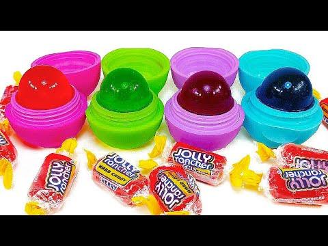 DIY: Make Your Own EDIBLE EOS JOLLY RANCHER LOLLY POP CANDY TREATS! Soo Tasty & Sweet!