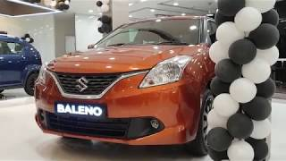 Discontinued... Maruti Suzuki Baleno Autumn Orange Color|Exterior & Interior