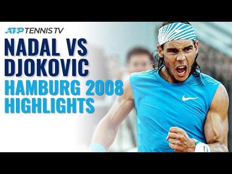 Rafa Nadal vs Novak Djokovic BRILLIANT Hamburg 2008 Semi-Final! | Classic Tennis Highlights