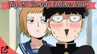 Top 25 Comedy Animes 2019 (All The Time)