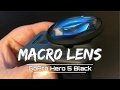 Macro Lens for GoPro Hero 5 Black | Test Footage Included