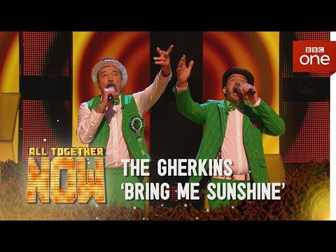 The Gherkins perform 'Bring Me Sunshine' made famous by Morecambe & Wise - All Together Now