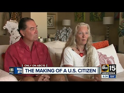 Woman officially becomes U.S. citizen 20 years later