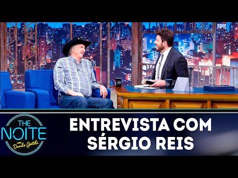 Entrevista com Sérgio Reis  The Noite 100419