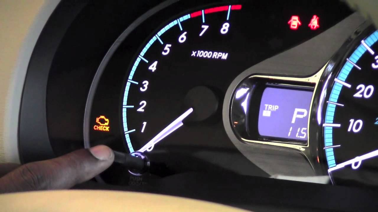 2011 Toyota Sienna Odometer And Trip Meter How To