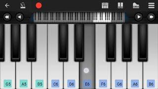 Dil Diyan Gallan - Piano Tutorial|Tiger Zinda Hai|How to play Dil Diyan Gallan on Piano/mobile piano