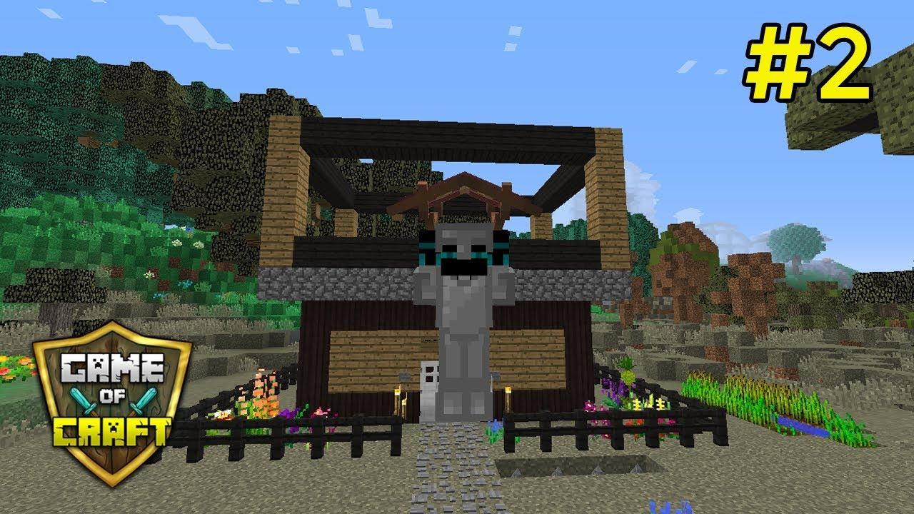 Game of Craft #2   Haciendo una casa