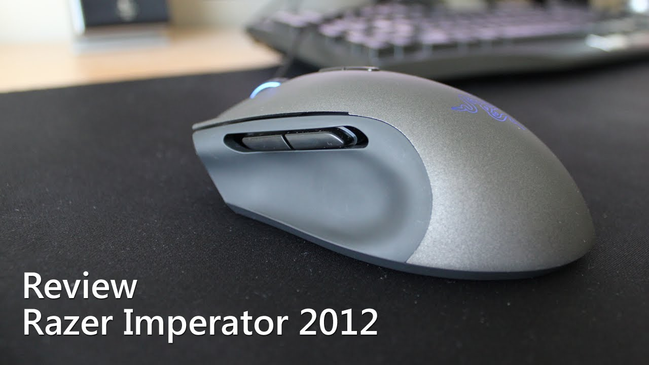 Razer Imperator 2012 Mouse Windows 8 Drivers Download (2019)