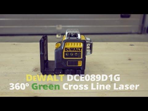 dewalt dce089d1g green cross line laser from toolstop. Black Bedroom Furniture Sets. Home Design Ideas