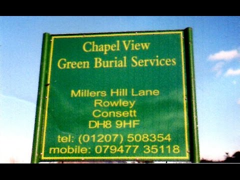 Chapel View - Greenfield Burial Services - Consett Local Trades
